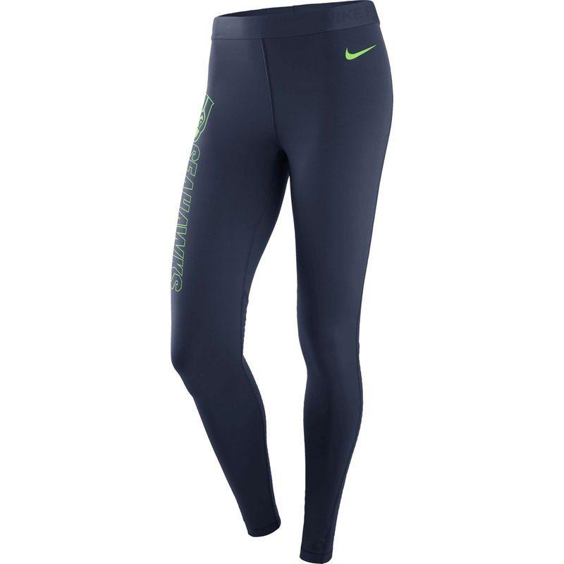 64c32fec7ba Seattle Seahawks Nike Women's Pro Leggings - College Navy   Products ...