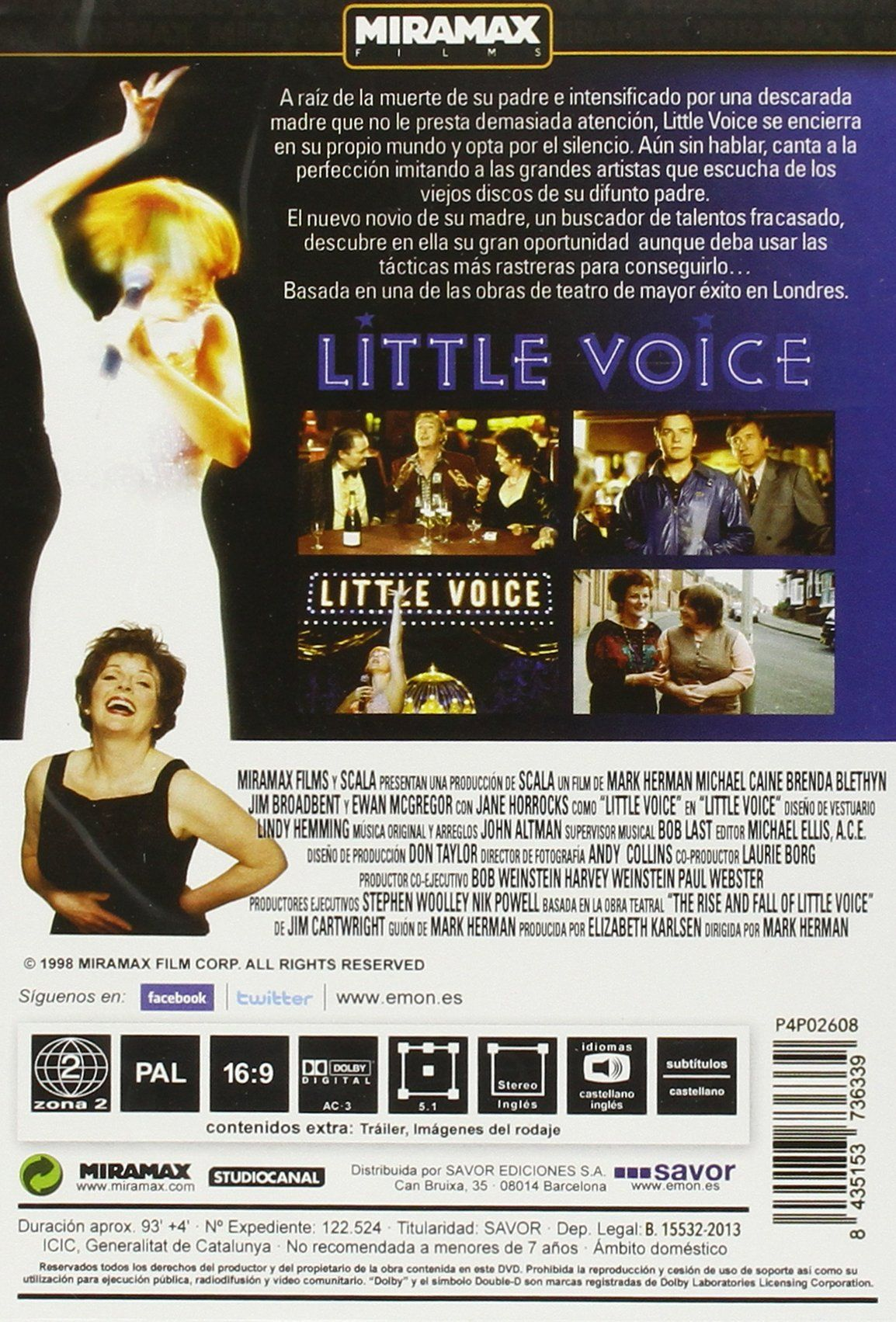 Little Voice [DVD] Ad Voice, DVD (With images) Quote