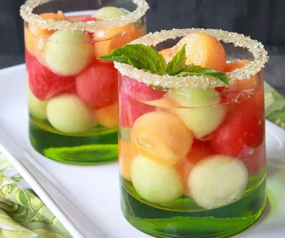 Melón ball drink
