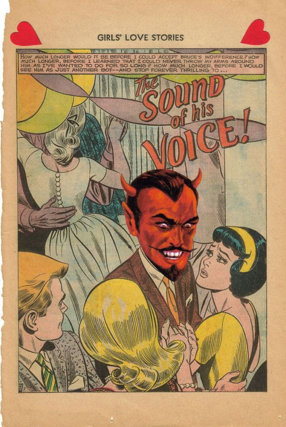 Original Collage Art Devil Lowbrow Horror Art Comic by dadadreams, $25.00