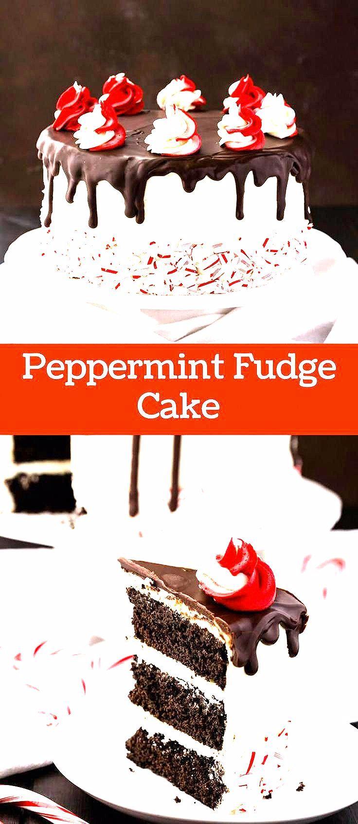 Photo of Peppermint Fudge Cake
