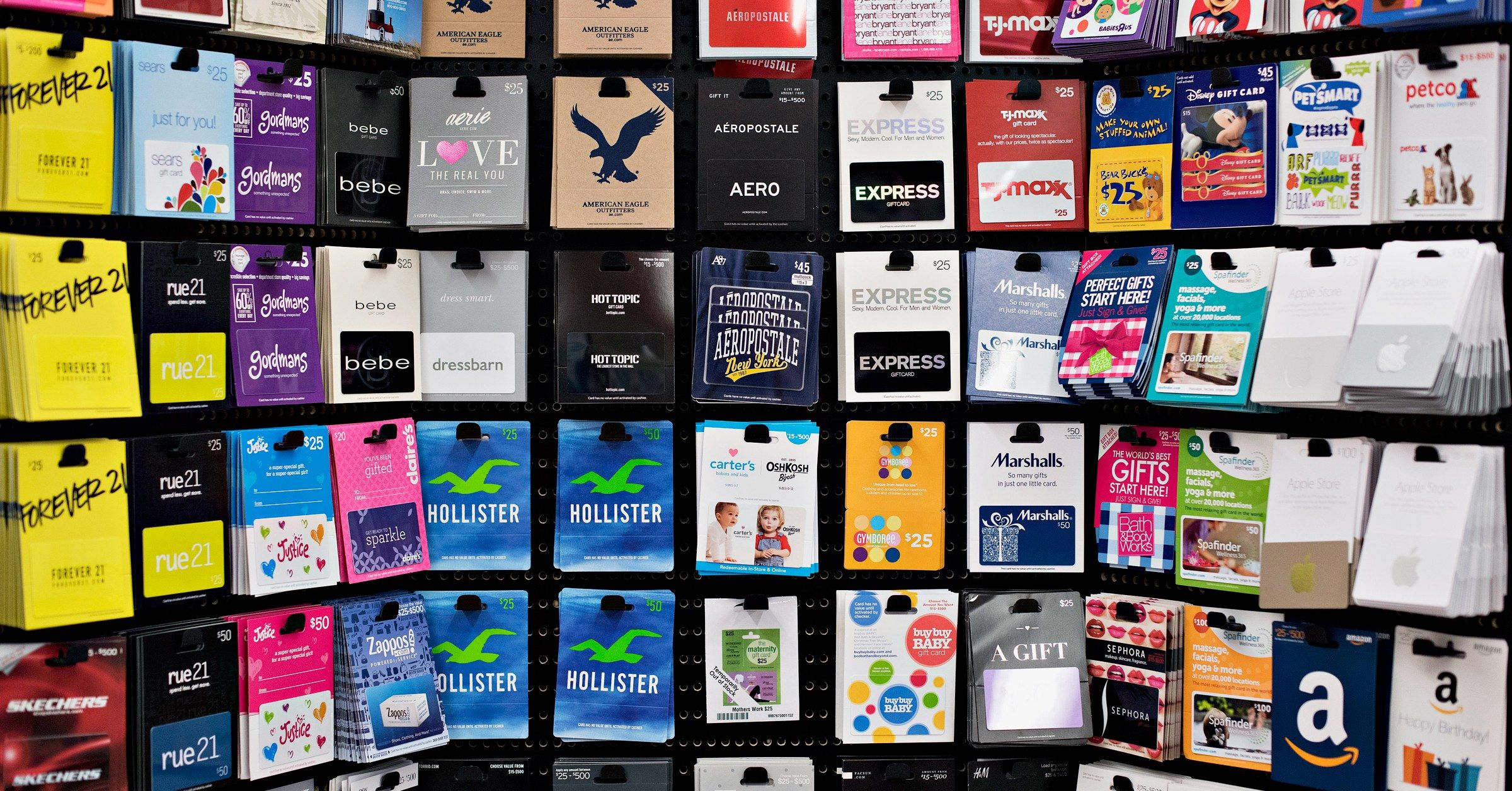 Hacking Retail Gift Cards Remains Scarily Easy Best Gift Cards