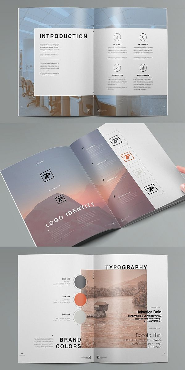 The Muse - Brand Guide Template