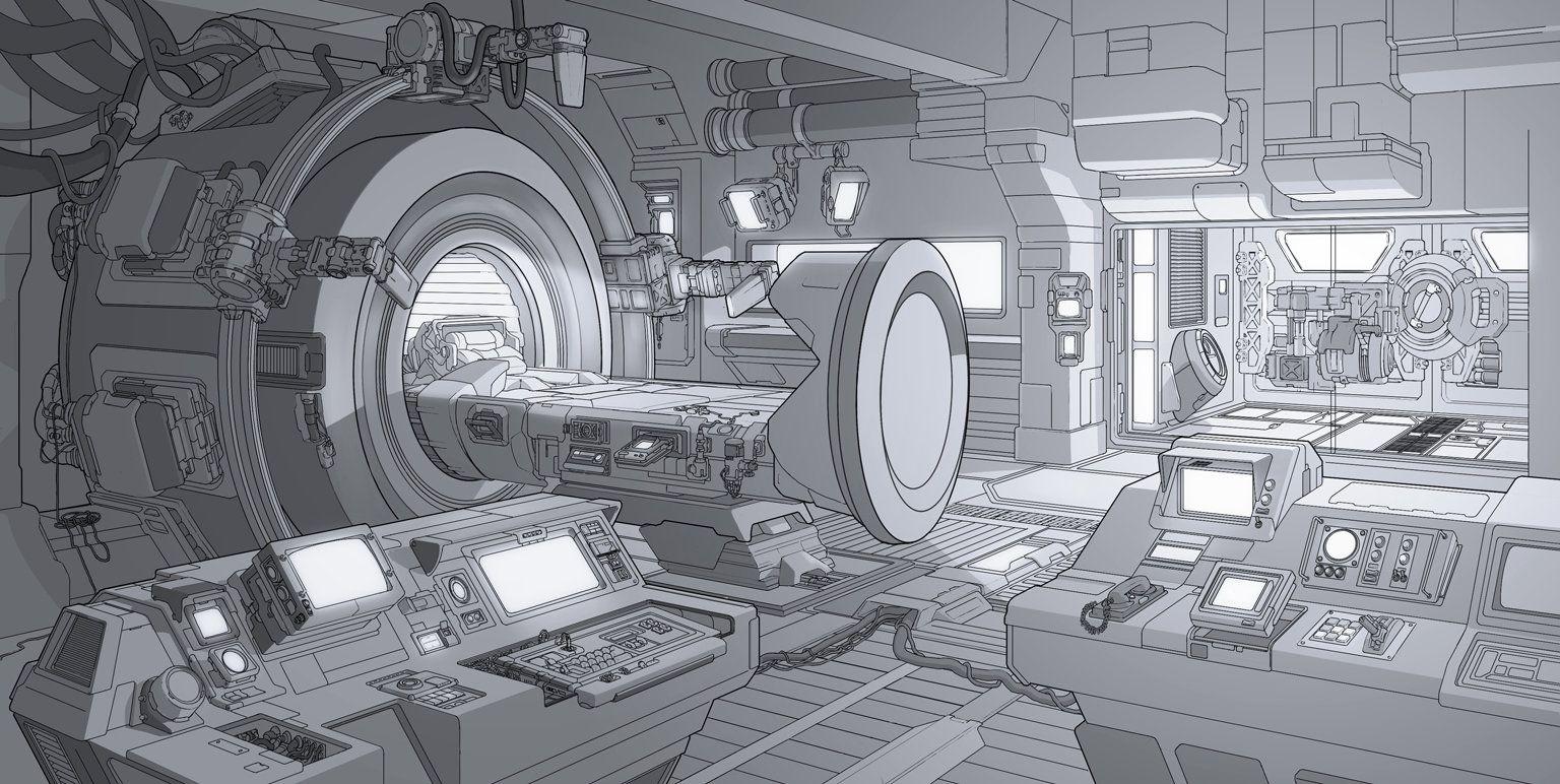 Pin by andres weber on freed env futurista dise o esc nico ilustraciones Diseno interior futurista