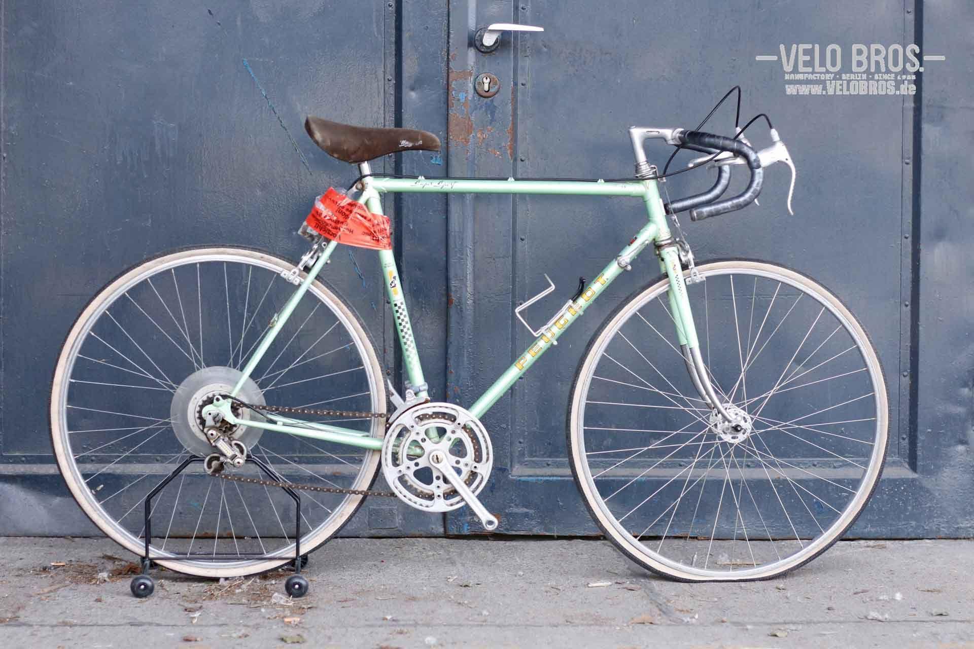 Peugeot Super Sport 54cm C C Simplex 3 Finger Levers Velo Bros Fahrrader Manufaktur Vintage Bicycles Bicycle Bike