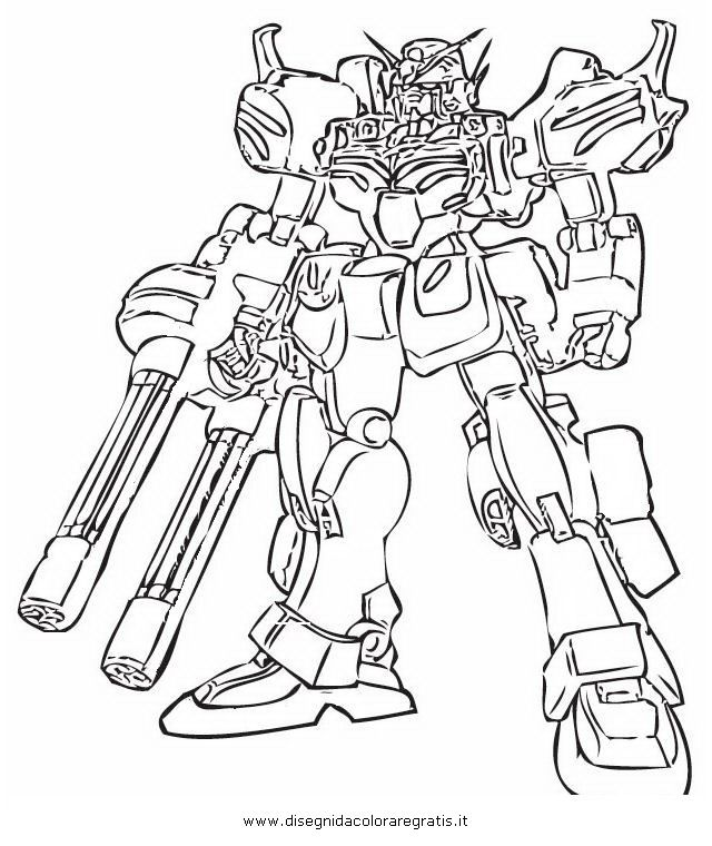 Gundam Coloring Pages Coloring Pages Gundam Wing Blog Colors