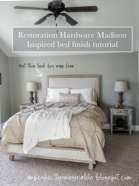 Do It Yourself Home Design: Restoration Hardware Inspired Maison Bed Tutorial And