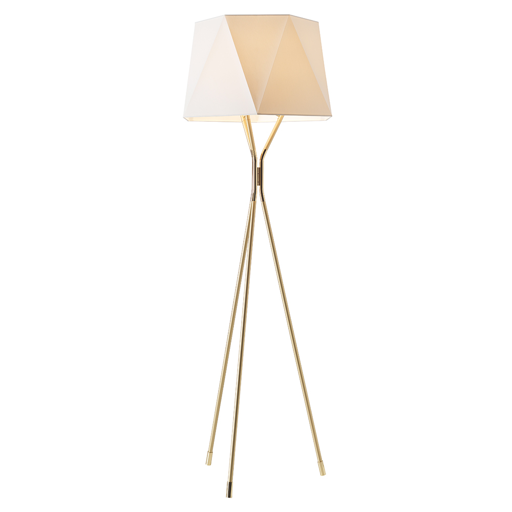 Solitaire Floor Lamp Satin Brass Polished Brass 2 Small Floor Lamps Floor Lamp Lamp