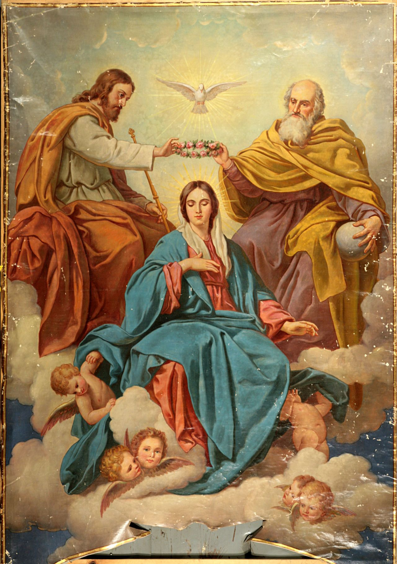 Image result for mary as mother, spouse and daughter