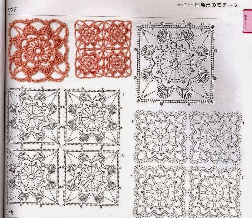 Tunica con Cuadrados de Crochet Patron - Patrones Crochet | Crochet ...
