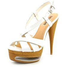 Unlisted Kenneth Cole Race Me Womens White Platforms Sandals Shoes UK 4  Buy New: List-$90.00 Sale Price-$35.99