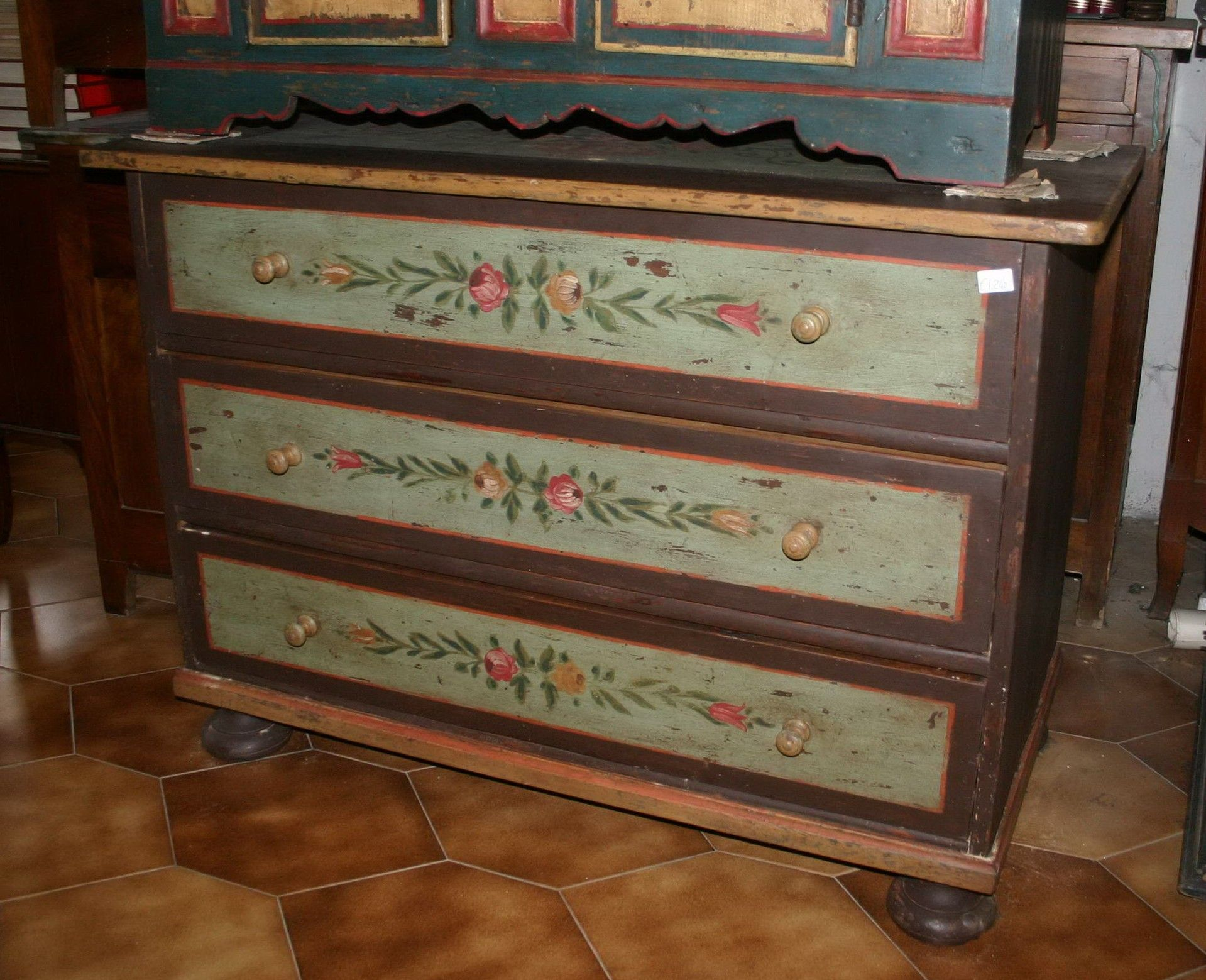 Mobili Pitturati ~ Mobili dipinti armadi cassettoni madie comodini murace