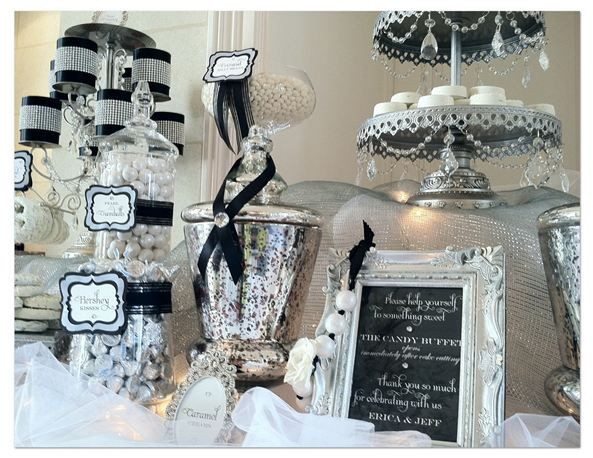 Wondrous Black And White Candy Table For Wedding Just Need To Add Download Free Architecture Designs Parabritishbridgeorg