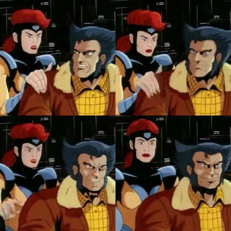 Xmen 90 S Cartoon Wolverine His Smirk At The End 90s Cartoon Cartoon 90s Cartoons