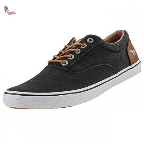 Hommes 41 Chaussures Eu Baskets Mustang Low Combi Black Top QtsdrxhC