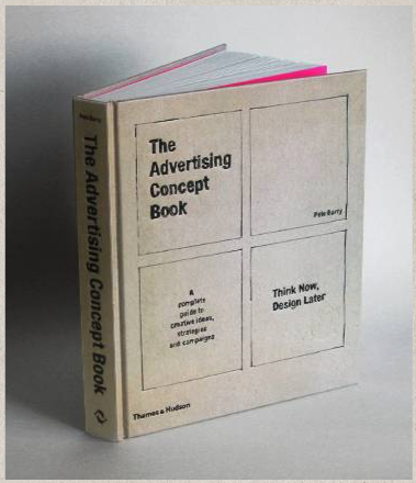 The Advertising Concept Book | Book design, Books, Book
