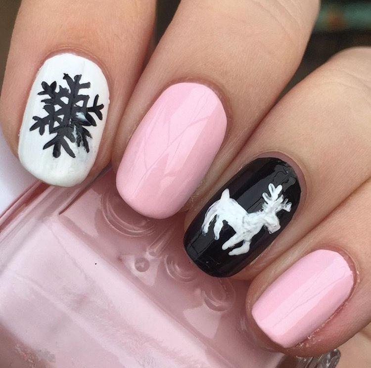 Winter 2016 nail art design of mine #winter #winternails #nails ...