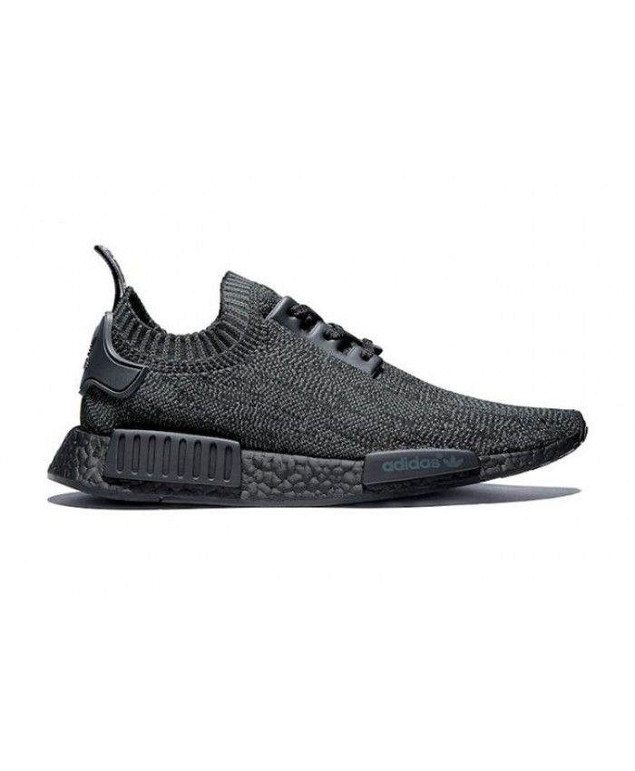 c61022981 Adidas NMD R1 Pitch Black Primeknit Trainers Sale UK