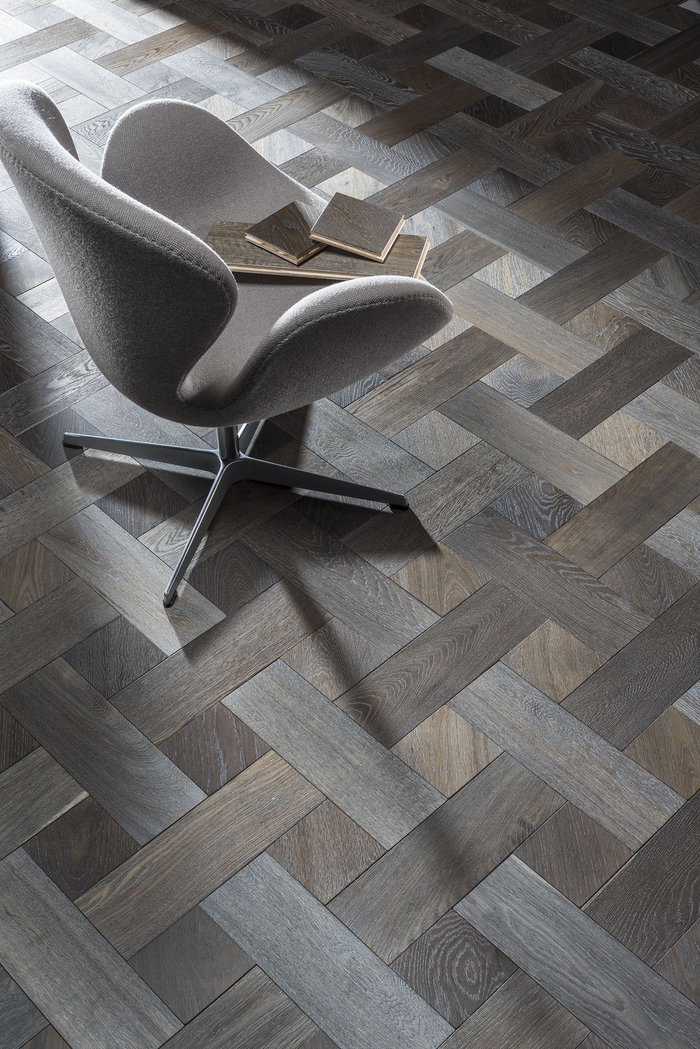 Elle Decor Advert Broderie In Gainsboro By Rhodium Floors Wood Floor Design Floor Design Floor Patterns
