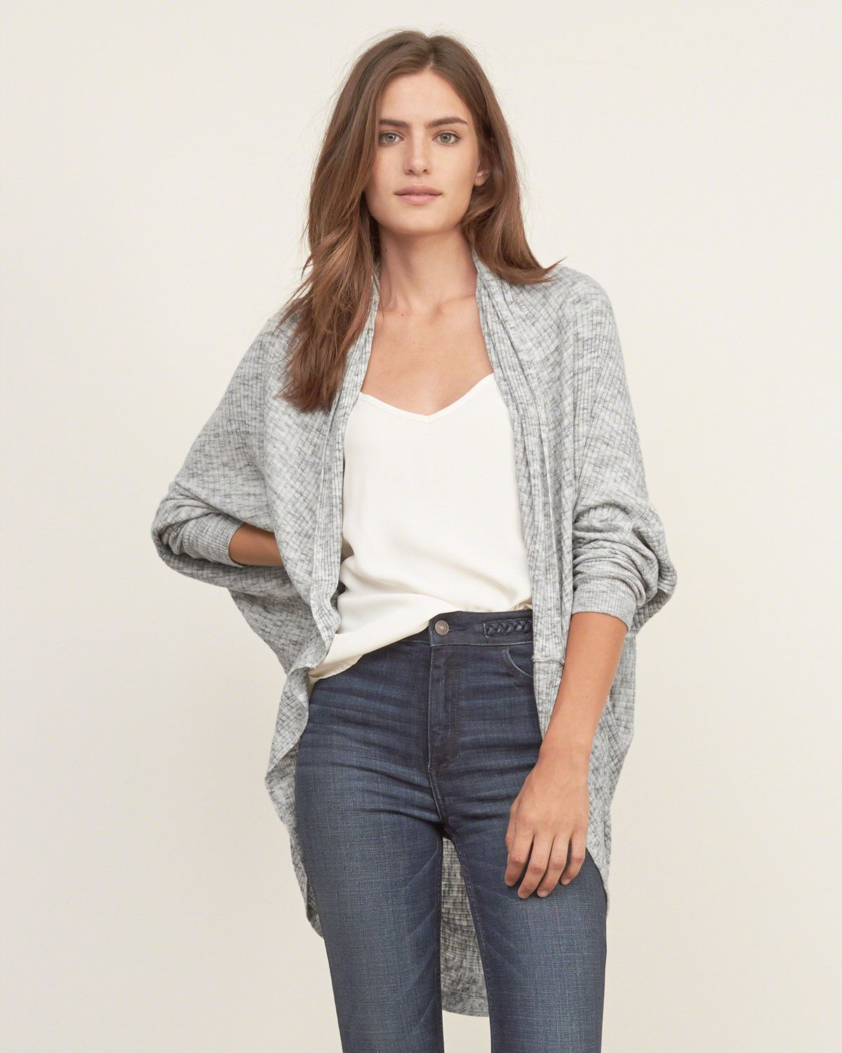 Womens Lightweight Cocoon Cardigan | Layer lightly with this ...