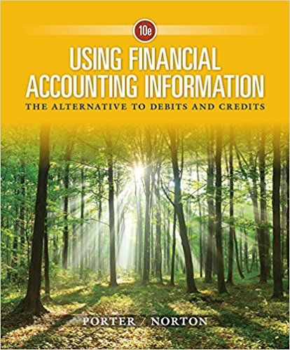 Using financial accounting information the alternative to debits using financial accounting information the alternative to debits and credits 10th edition porter test bank test banks solutions manual textbooks fandeluxe Gallery
