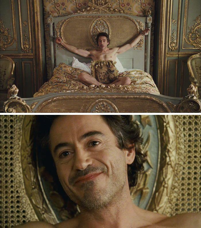 Sherlock Holmes (2009) Starring: Robert Downey, Jr. as Sherlock Holmes.
