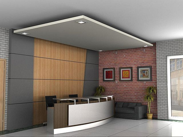 Info You Are Viewing Minimalist Reception Office Design