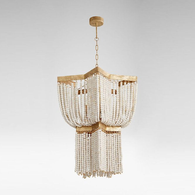 Valencia Wood Bead Chandelier Small Decoratie Leuke Ideeen En Ideeen