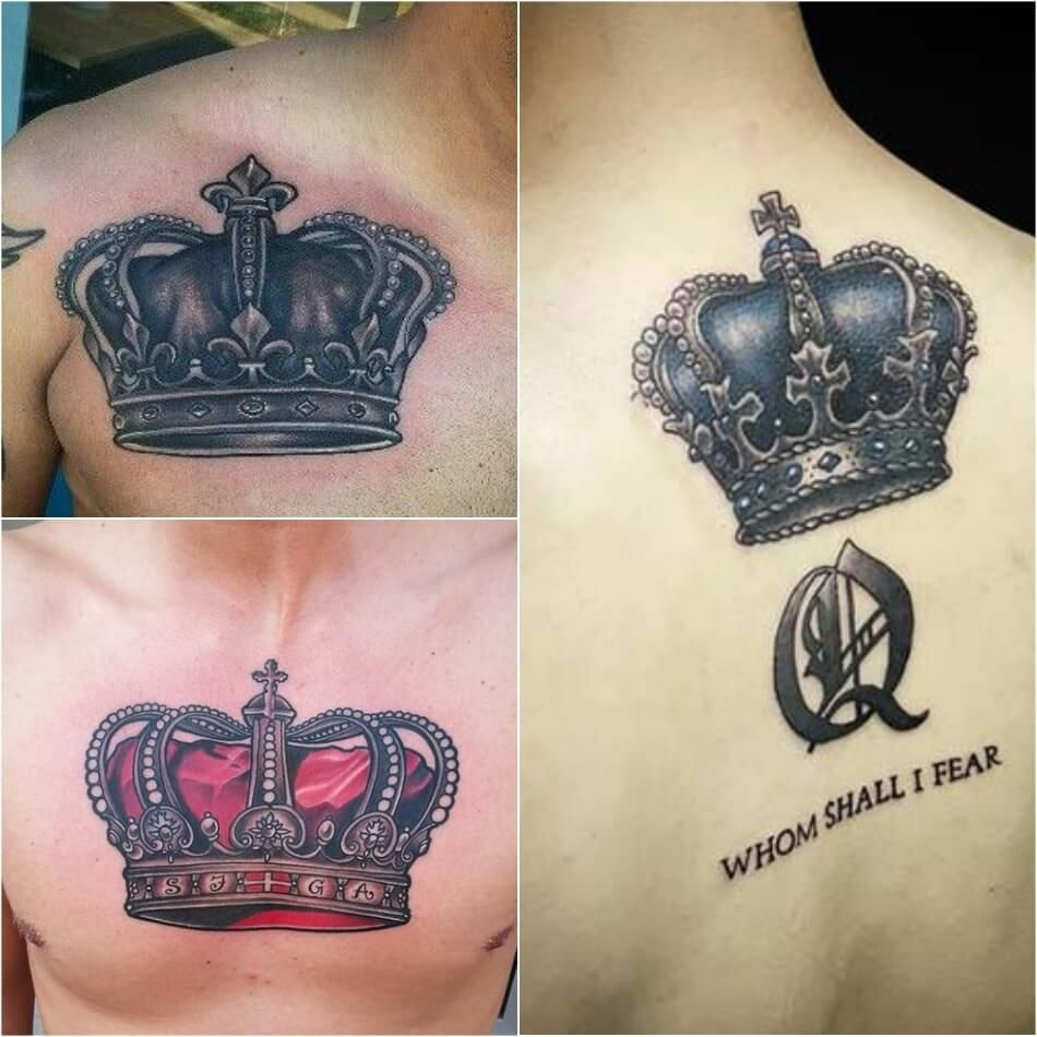 Crown Tattoo For Kings And Queens Crown Meaning And Designs Crown Tattoos For Women Crown Tattoo Design Crown Tattoo