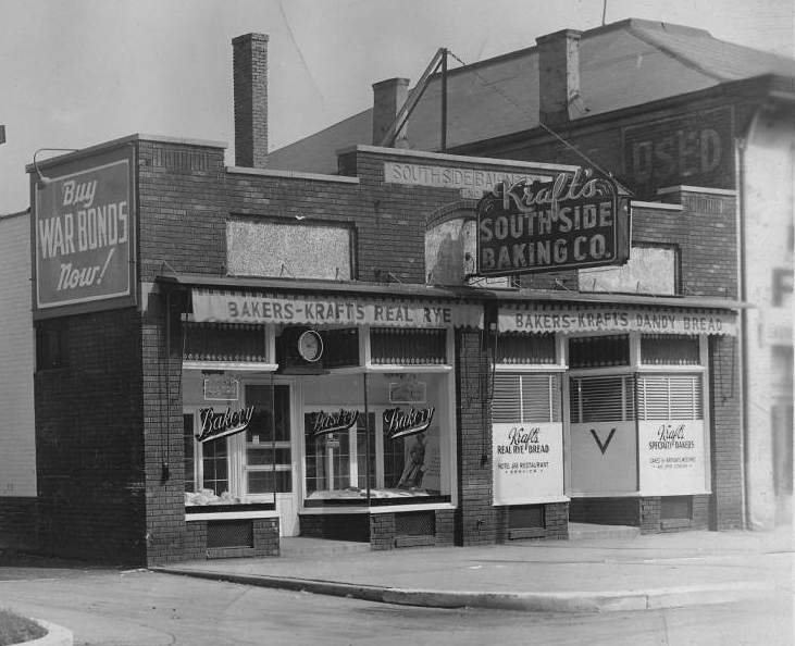 Indianapolis Then And Now Kraft S South Side Baking Company 915 S Meridian Street Historic Indianapolis All Things Indianapolis History In 2020 Indianapolis Meridian Historical
