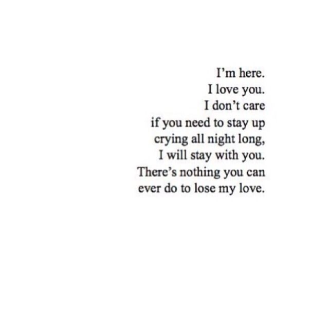 There S Nothing You Can Ever Do To Lose My Love My Love Quotes Deep Words