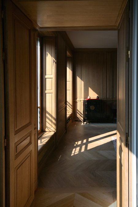Int Rieur En Boiseries Murales 078 R Rodrigo Da Fonseca Pinterest Interiors Apartments