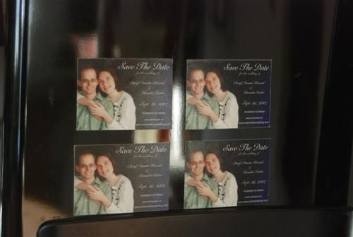 make your own save the date wedding magnets diy projects to