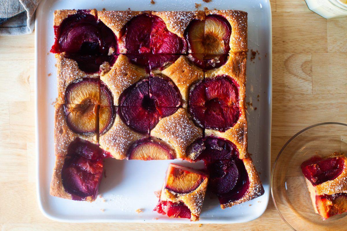 Dimply Plum Cake Recipe In 2020 Fun Baking Recipes Smitten Kitchen Recipes Plum Cake
