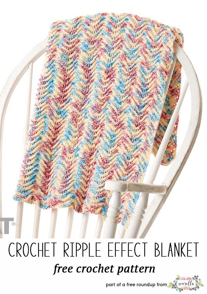 Best Crochet Baby Blankets for 2018 | Häkeln