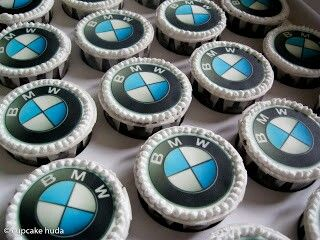 Bmw Cupcakes Birthday Party Themes Birthday Theme