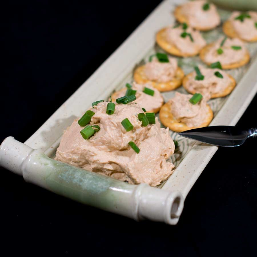 With its rich flavors and creamy texture this smoked salmon dip hits all the right notes inthis classic appetizer.