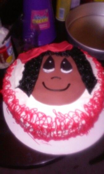 Baby girl... special request cake