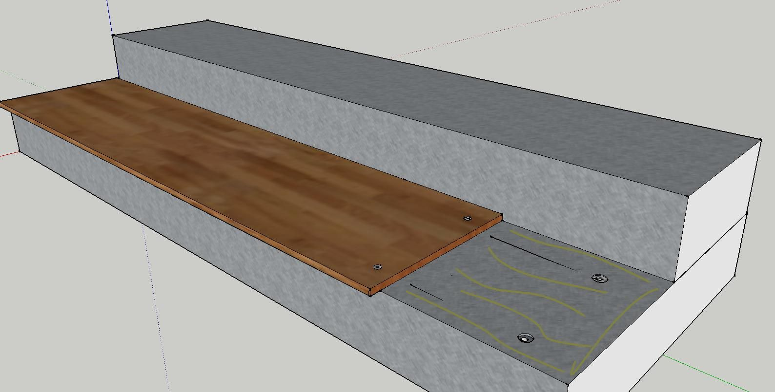 Cover Concrete Steps With Wood Concrete Steps Deck Over | Wood Stairs Over Concrete | Stair Stringers | Composite Decking | Cement | Front Porch | Stoop