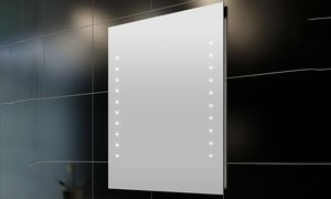 Led Badezimmerspiegel ~ Der led spiegel bali überzeugt durch klares strukturiertes design
