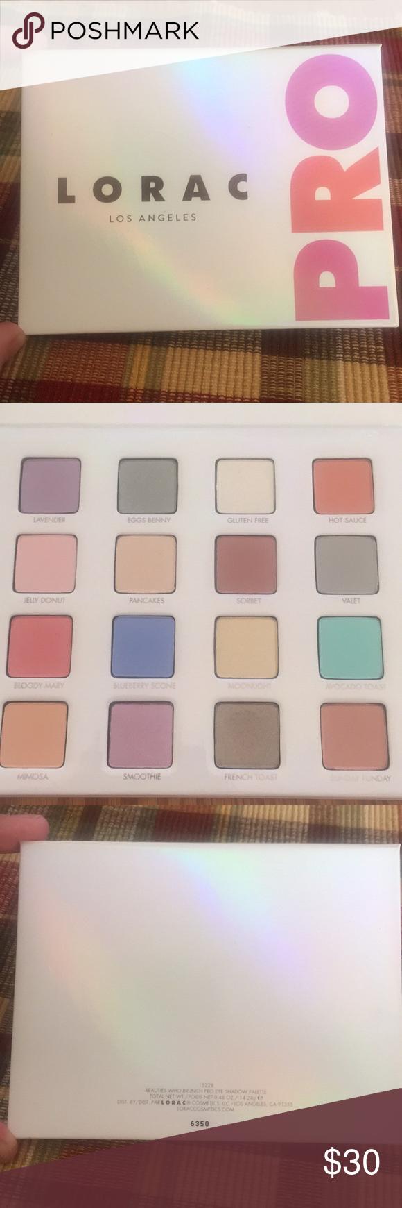 Lorac Pro LA Beauties Who Brunch Eyeshadow Palette
