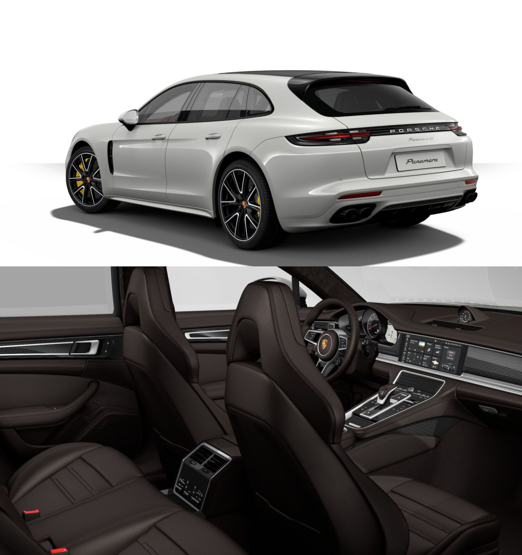 porsche panamera 4s gran turismo in crayon with sport design package carbon ceramic breaks. Black Bedroom Furniture Sets. Home Design Ideas