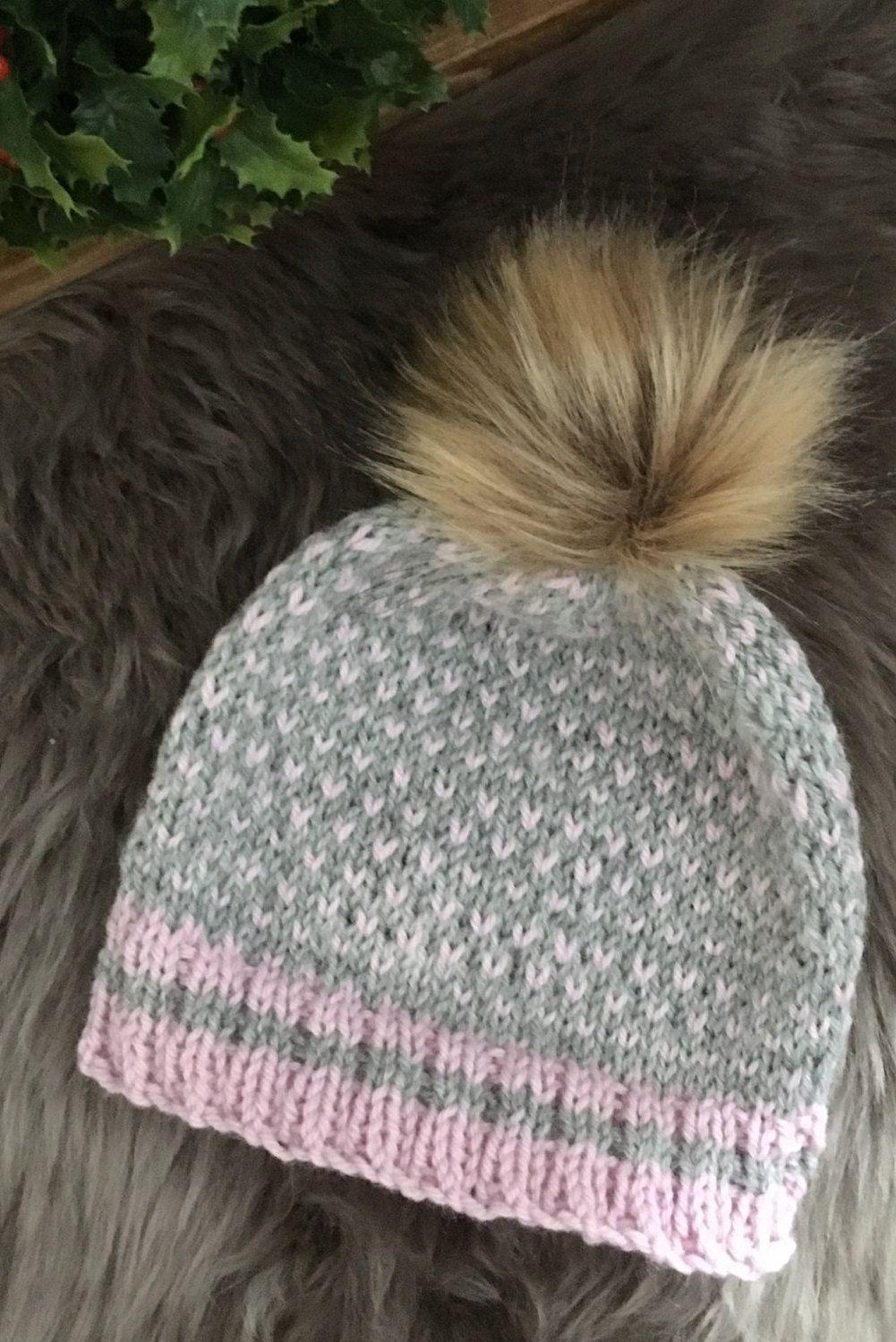 Toque knit baby 6-12 months   Pinterest   Tuque tricot, Tricot bébé ... 7547f8487d4