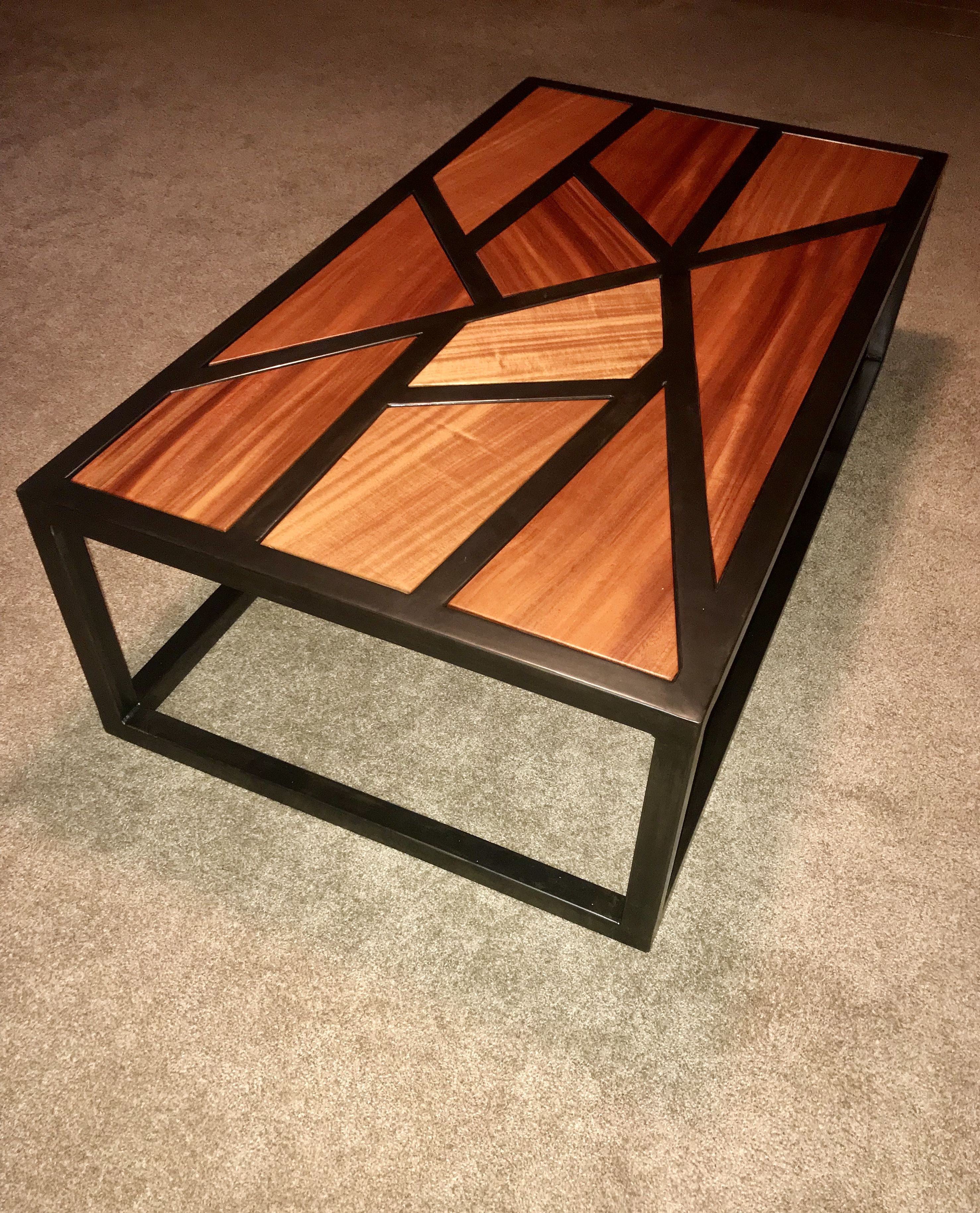 Steel Wood Coffee Table Metal Furniture Design Metal Work Table Metal Furniture [ 3659 x 2956 Pixel ]