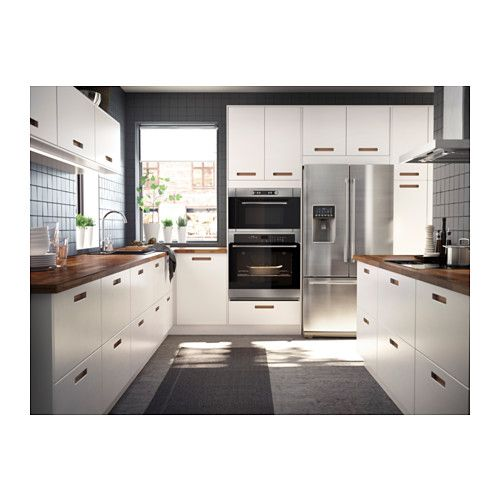 NUTID Self-cleaning convection oven, Stainless steel Pinterest - küche l form mit insel