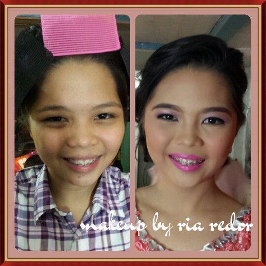 Prom makeup :)