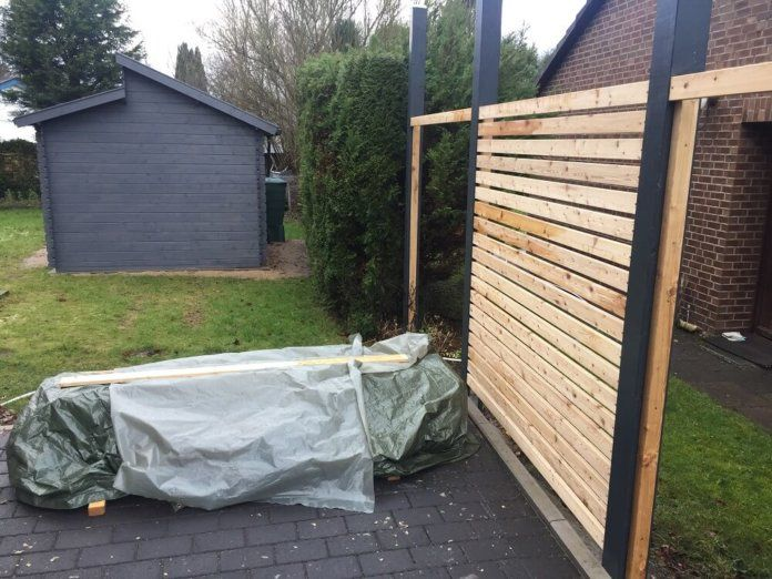 Fertigen Gartenzaun kaufen oder Zaun selber bauen (lassen)? #zaunideen
