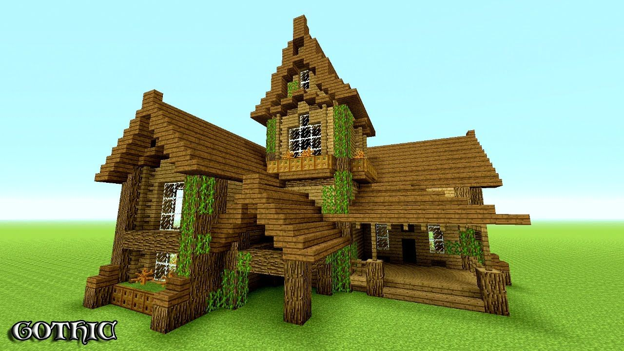 Minecraft How To Build A Survival House Best 2016 201