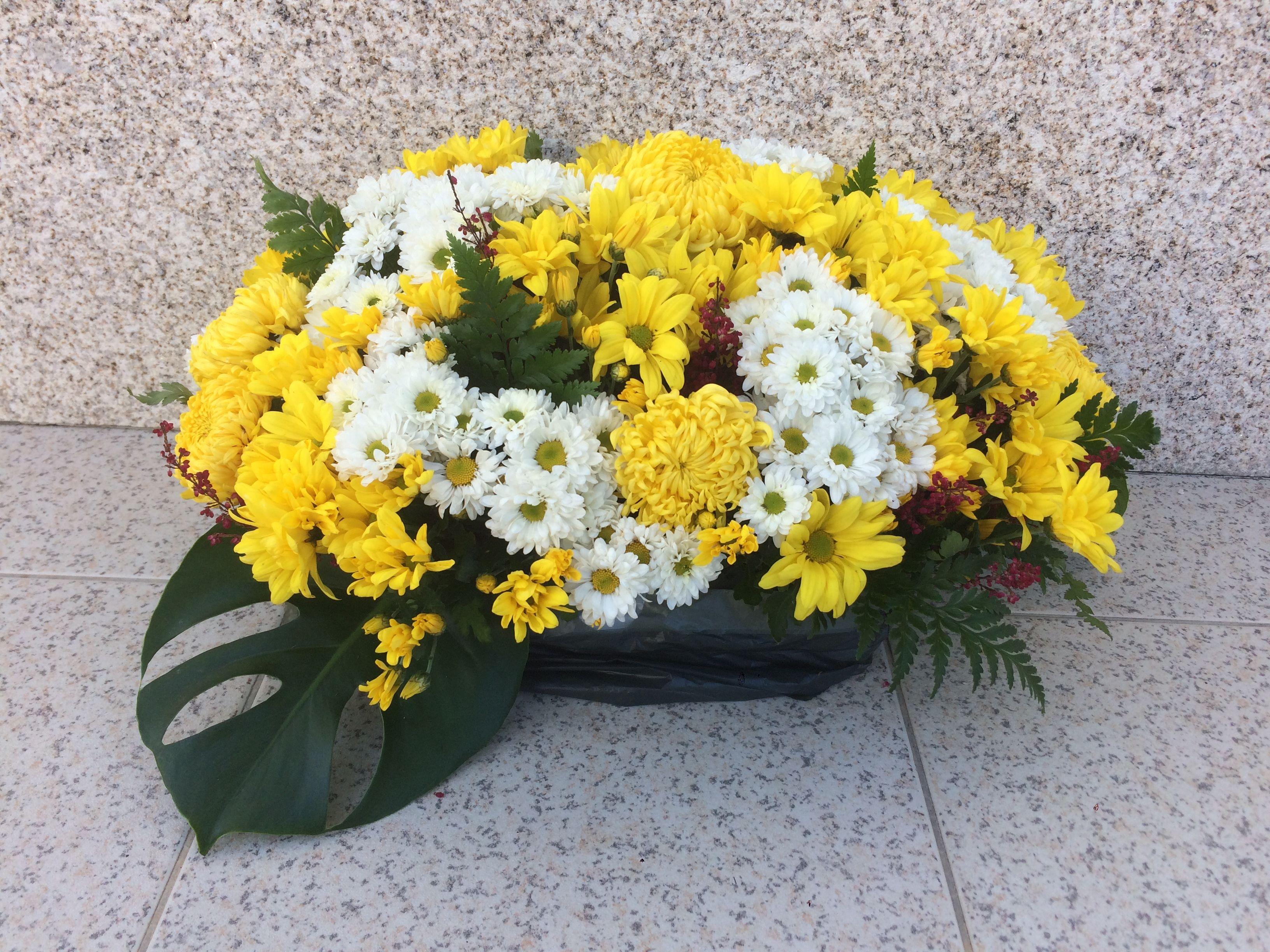 Arranjo Com Margaridas E Crisantemos Arranjos De Flores