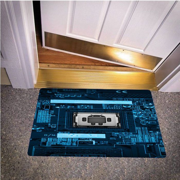 ANDROID CIRCUIT TECHNOLOGY BEDROOM CARPET BATH OR DOORMATS